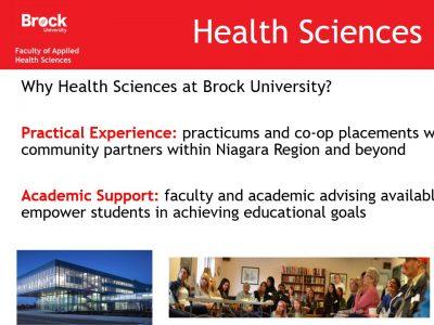 Health Sciences Slide