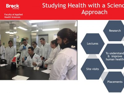 Health Sciences Studying Health with a Science-based Approach Slide