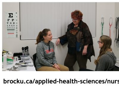 Nursing students learn how to engage in patient consultation