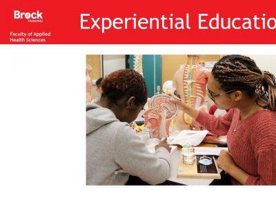 Health Sciences Experiential Education Slide