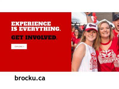 Happy Brock students