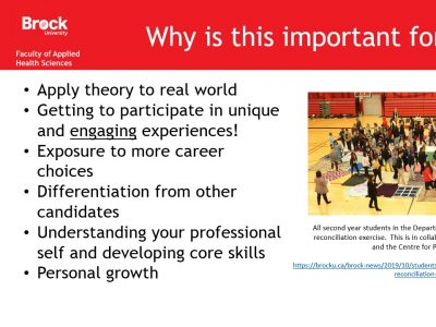 Applied Health Sciences Importance Slide