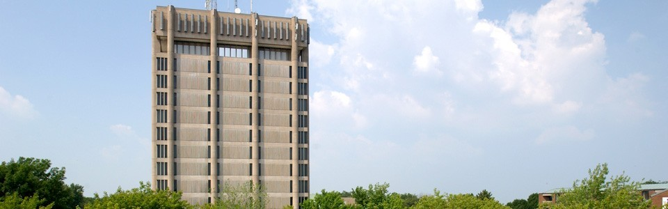 The Schmon Tower at Brock University