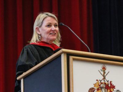 Speaker at convocation
