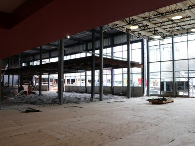 Construction of fitness centre