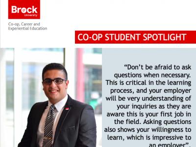 Co-op Student Spotlight