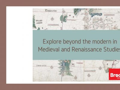 Explore Medieval and Renaissance Studies
