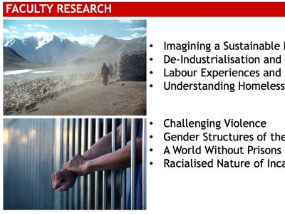 Sociology Faculty Research Slide
