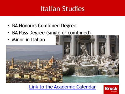 Italian studies degrees