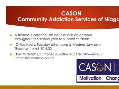 Information on CASON
