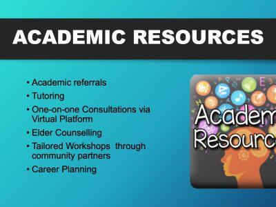 Aboriginal Student Services Slide