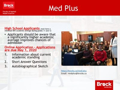 Even more information on Med Plus