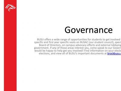 BUSU Governance Slide