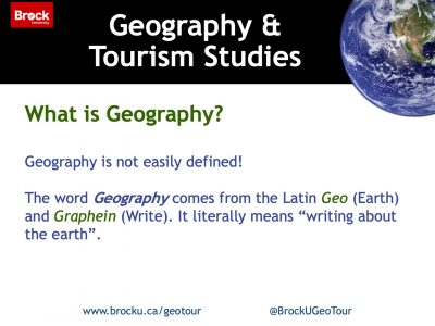 What is Geography slide