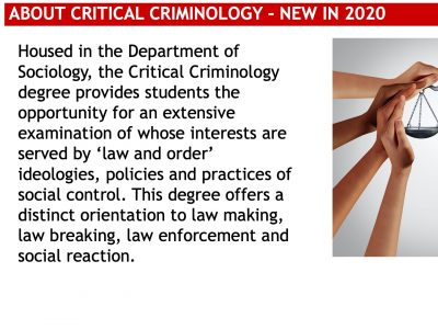 About Critical Criminology Slide