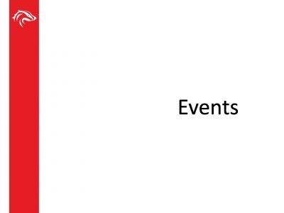 BUSU Events Slide