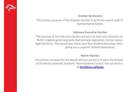 BUSU Elections Slide