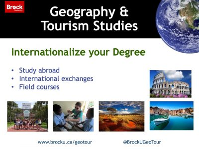 Geography and Tourism Studies International Slide
