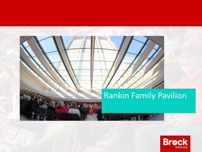 A photo of the Rankin Family Pavilion
