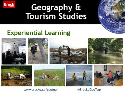 Geography and Tourism Studies Experiential Learning Slide