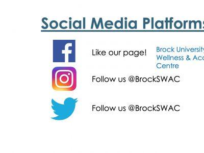 SWAC social media - @BrockSWAC