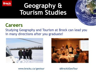 Geography and Tourism Studies Careers Slide