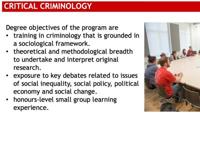 Critical Criminology Slide