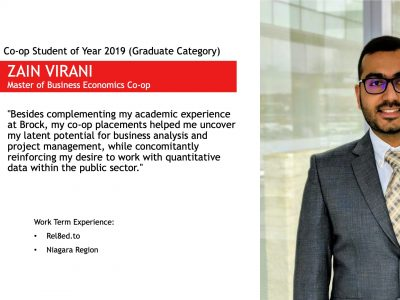 Co-op Student Profile