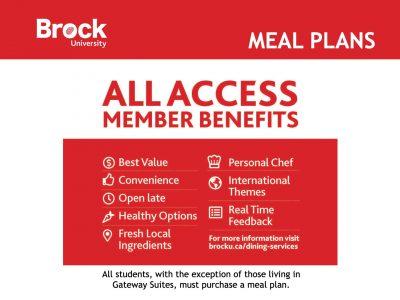 Residence Meal Plans Slide