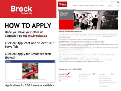 Residence How to apply Slide
