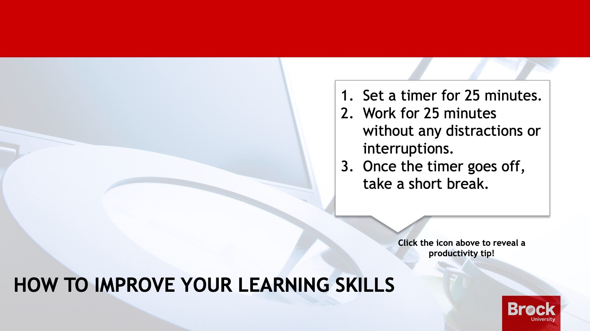 How to improve your learning skills