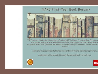 MARS book bursary