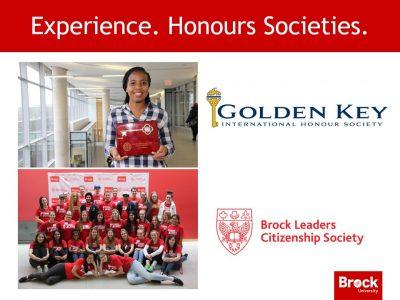 Honours Societies Slide