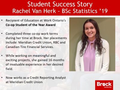 Student Success Story - Rachel Van Herk