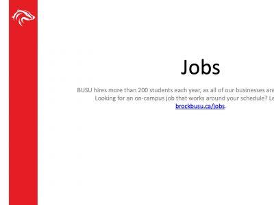 BUSU Jobs Slide