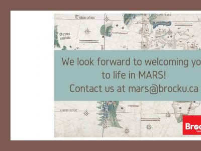 MARS department contact info