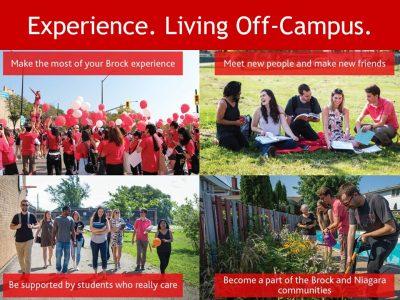 Living Off-Campus Slide