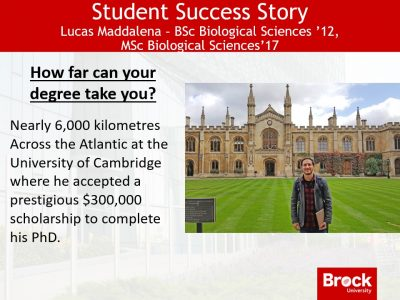 Student Success Story - Lucas Maddalena