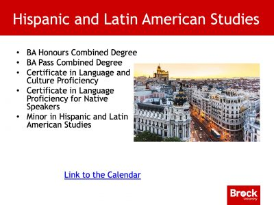 Hispanic and Latin American studies degrees