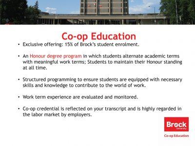 Co-op Education Slide