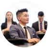 A Goodman School of Business student