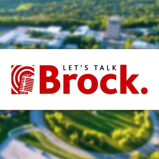 Let's Talk Brock Podcast Logo