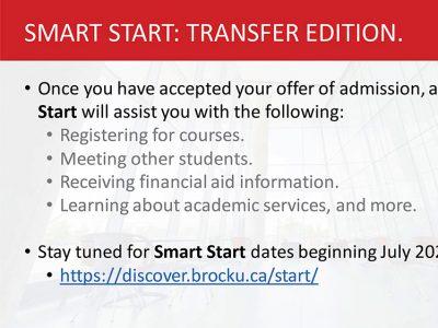 Smart Start Slide